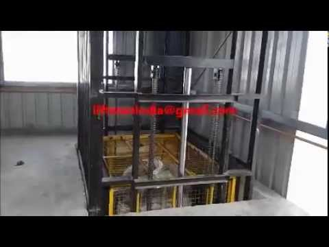 Hydraulic Goods Lift Elevator