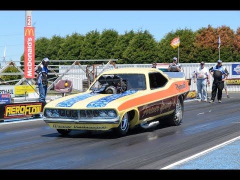 Wayne Talbot's funny car at Portland