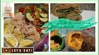 What's For Lunch | Our Work Lunches for the Week | Lots of Ideas!
