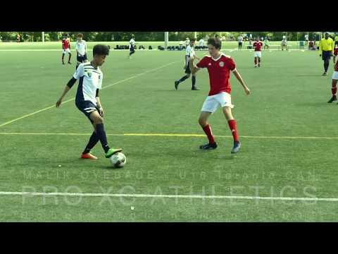 U16 Canada soccer - MALIK  OYEBADE -  WESTON WOLVES  2019
