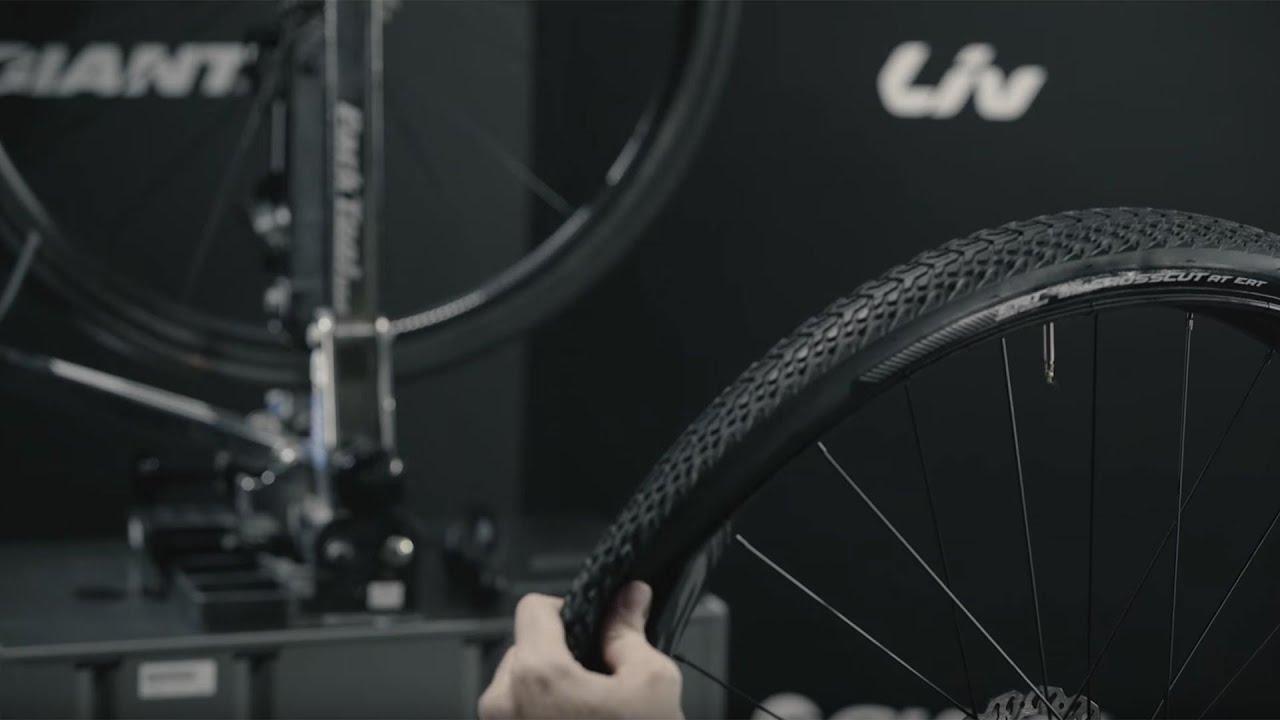 Set up a tire