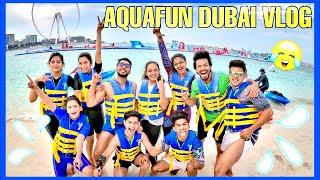 A day with my gang at Aquafun Dubai 😍 💦 | NAGMA MIRAJKAR