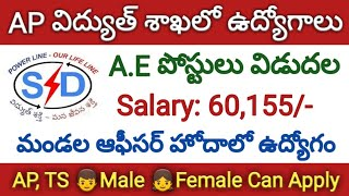 #APSPDCL Assistant Engineer Posts Recruitment Notification 2019 | APSPDCL AEE Notification 2019