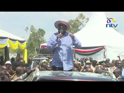 Raila says handshake will restore unity Kenya had before independence