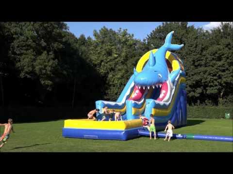 Riesenrutsche Hai Super 4in1