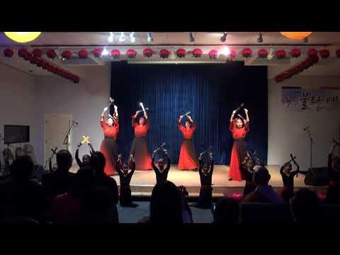Chicago Bultasa 2018 부처님 오신날 기념 불타예술제 불타한국학교 검무