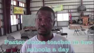 preview picture of video 'Foursquare Haiti - Part 6- National Church - Pastor Jonas' Story'