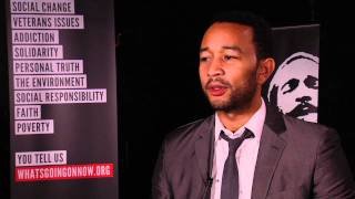 "John Legend discusses ""Wholy Holy"""