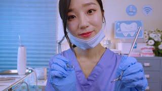Dentist Teeth Checkup & Cleaning😄 ASMR
