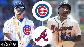 Chicago Cubs vs Atlanta Braves Highlights | April 3, 2019