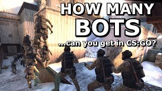 How Many Bots can CS:GO Support?