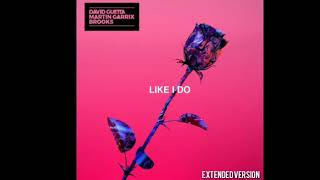 David Guetta & Martin Garrix & Brooks   Like I Do Extended Mix 360p