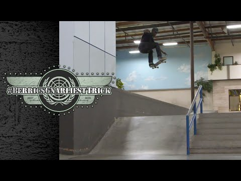 Dashawn Jordan's Gnarly Gap To Frontside Boardslide | Berrics Gnarliest Trick