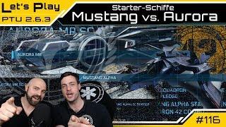 Star Citizen Starterschiff Vergleich: Mustang Alpha vs. Aurora MR | LetsPlay Guide [Deutsch/German]