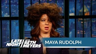 Maya Rudolph's Rachel Dolezal Impression - Late Night with Seth Meyers