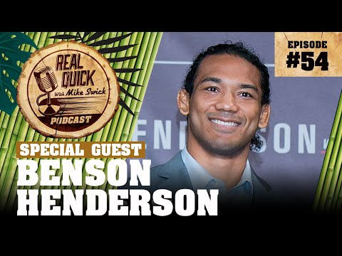 #54 – Benson Henderson – Real Quick With Mike Swick Podcast