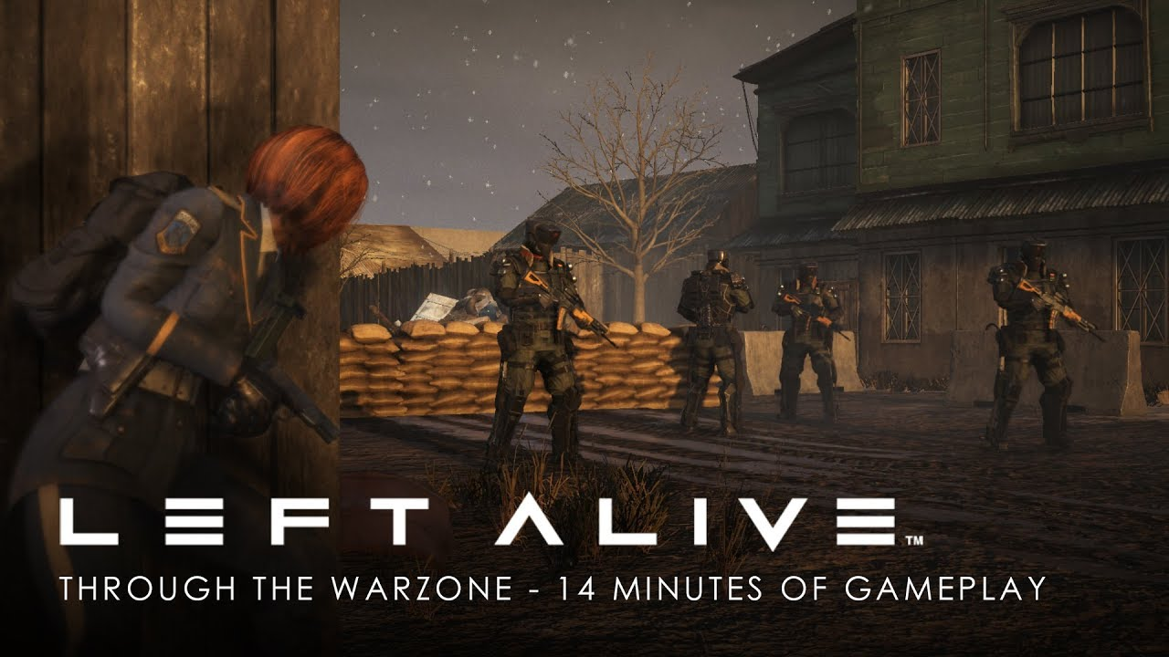 Video LEFT ALIVE™ [PS4]