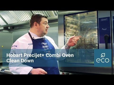 Hobart Precijet+ Combination Oven Clean Down