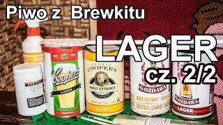 Lagery cz. 2/2 - domowe piwo z Brewkitu. Fermentacja i butelkowanie.