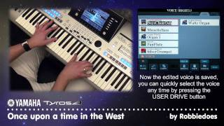 Tyros 4: Once upon a time in the West - Ennio Morricone (voice edit tutorial)
