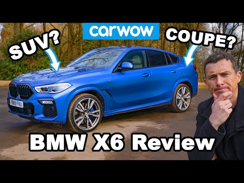 New BMW X6 M50d review: see just how quick a diesel SUV can be!