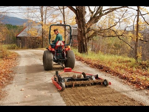 Homemade towable road grader homemade ftempo for Idee deco trackid sp 006