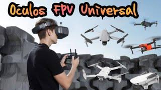 Óculos FPV Universal Para Qualquer Drone   Fimi X8 Se   Mavic Air 2   Mini 2   Zino   Mavic Pro