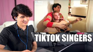 Vocal Coach Reacts to The most Beautiful Voices on Tiktok 🎤🎶 Tik Tok Singing Compilation