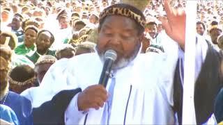 Shembe: Rev. Ngema   Namhla Nkosi Sibuyela Kuwe