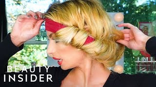 Headband Creates Natural Curls Without Heat