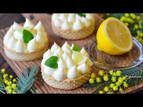 Как приготовить тарт с лимонным курдом