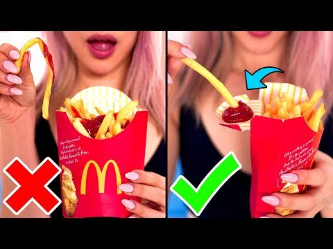 10 FAST FOOD Life Hacks That You NEVER Knew Before! Save Money And Learn How To Avoid Spoiled Food
