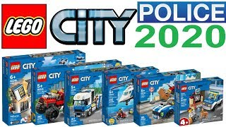 All LEGO City Police Sets 2020 - Lego Speed Build Review