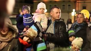 Wigilia na Rynku 2015 w Krośnie