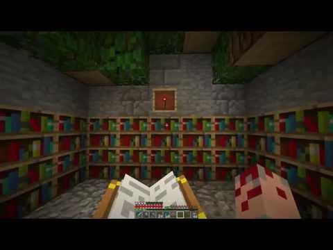 Minecraft Single Player Let's Play E40 - Moderní Enchanting [Česky]