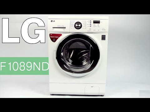 Фото - Стиральная машина с фронтальной загрузкой LG F1089ND