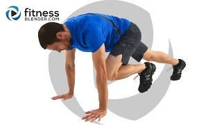 15 Minute HIIT Metabolism Booster - Total Body and Abs HIIT Workout by FitnessBlender