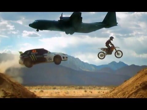 Ken Block Airfield Rallying (HQ)   Top Gear   BBC