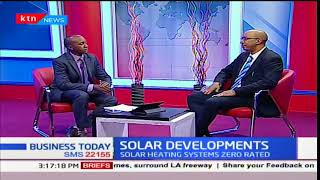 Kenyatta University switches to solar energy-Eng Phillip Holly, Davis and Shirtliff: Business Today