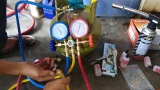 Alat Dan Bahan Untuk Servis Kulkas Dan AC Yang Sangat Sederhana