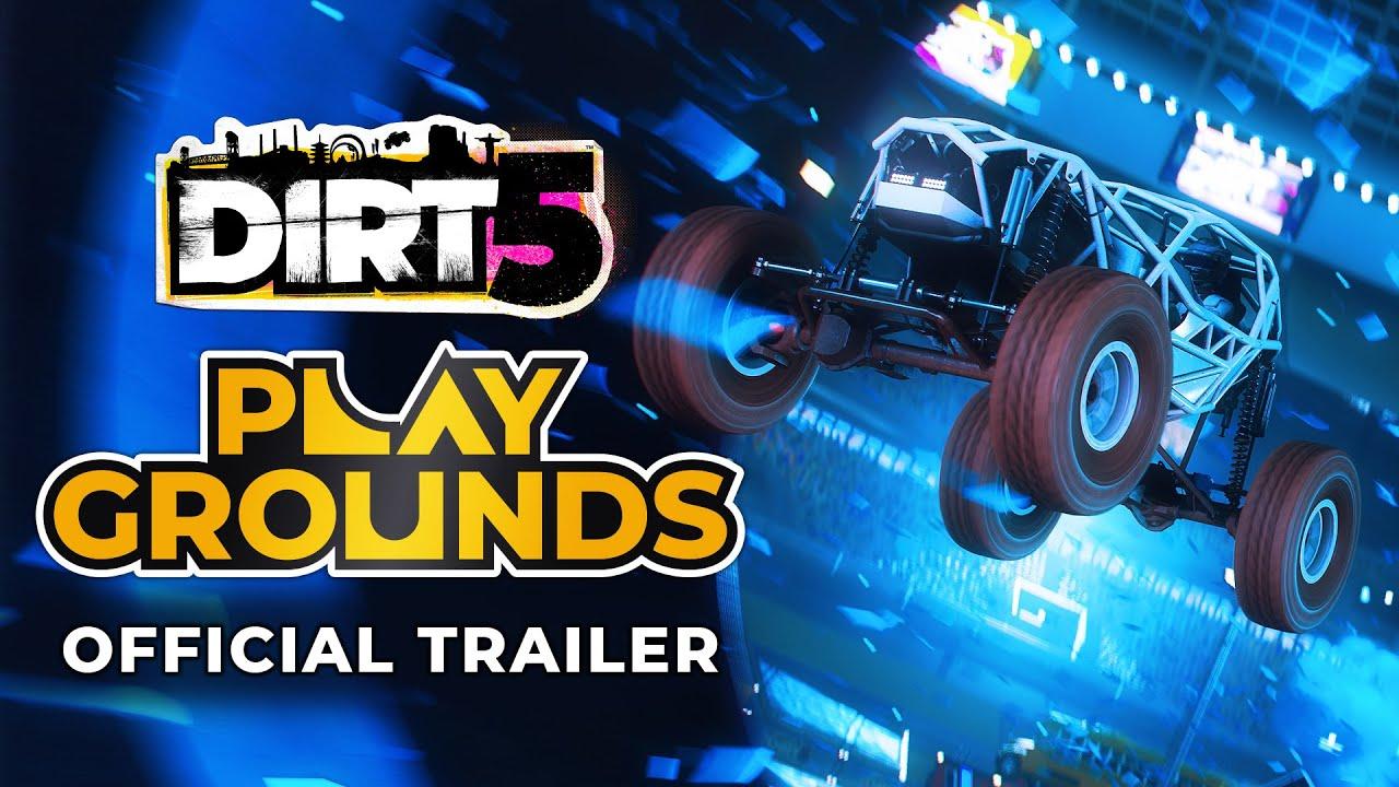 《大地長征 5》在科隆展發佈會中公開了一段「Playground」宣傳片,你可以在本作中在競技場裡設計各種競賽活動和比賽規則。 Maxresdefault