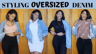 How To Style // An Oversized Denim Jacket