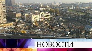 Новую станцию Большой кольцевой линии московского метро «Савеловская» откроют до конца года.