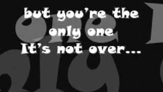 Chris Daughtry-It's Not Over Lyrics