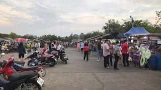 ลุยตลาดโต้รุ่ง นครปฐม หาของกิน ชิมอาหารอร่อย