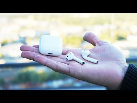 Обзор Apple airPods (white)