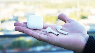 Полный обзор наушников Apple AirPods