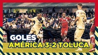 Club América (5) 3-2 (4) Toluca | RESUMEN - Todos goles Liguilla - 4tos Vuelta | Liga MX | AP2018
