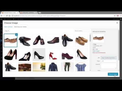 Cómo hacer un catalogo de productos en Wordpress