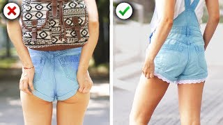 13 Easy School Girl Fashion Hacks and Back to School DIY Clothes Ideas by Crafty Panda
